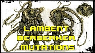 The Lambent Berserker Morphology | Aggression, Boss Fight, Size and Mutations | Gears of War 3 Lore