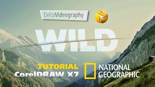 (INTERMEDIO) TUTORIAL 9 CorelDRAW X7: LOGO + EFECTO 3D