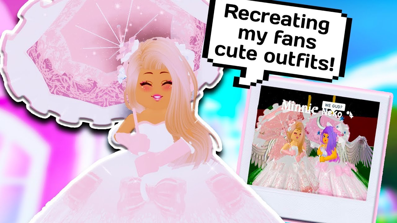 New Update Recreating My Fans Cutest Outfits Roblox Royale