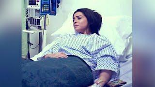 مي عز الدين تصاب بإلتهابات حادة بعد عملية التجميل