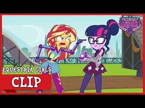 Sunset's Rage Towards Twilight | MLP: Equestria Girls | Friendship Games! [HD]