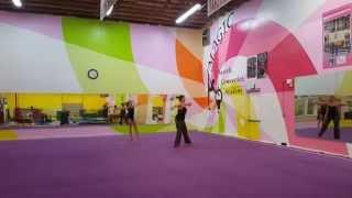 Level 8 Floor Choreography