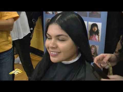 Sterling Heights High School Pep Rally Hair Cut