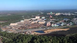 Disney's Hollywood Studios Construction Aeria...