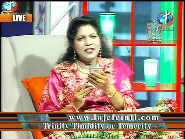 Trinity Timidity or Temerity  Dr. Dominick Rajan 04-06-2018