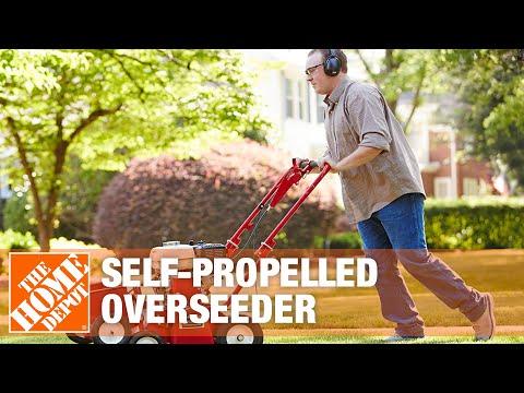 Classen Self-Propelled Overseeder Rental | The Home Depot