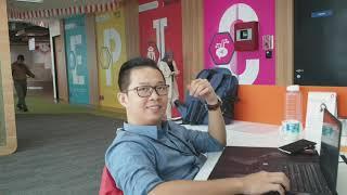 Daily Routine : Hampir Keseharian di Kantor + Bonus Ping Pong #zianvlog