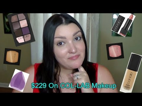 Col-lab Makeup Review - 11 Products Reviewed! - YouTube