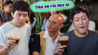 Trấn Thành, Trường Giang LO LẮNG cho quán Ngô Kiến Huy khi Color Man khai trương tòa nhà cafe XỊN XÒ