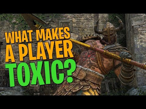 What Makes a Player 'Toxic' in For Honor?