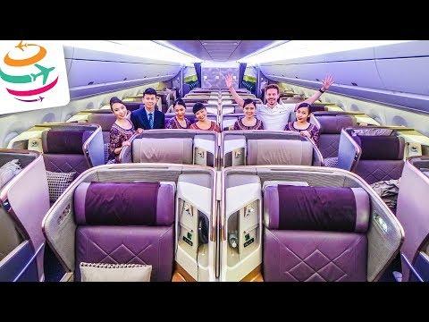 18 Stunden! Der längste Flug der Welt, Singapore Airlines Business Class | GlobalTraveler.TV