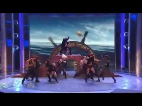 Yellow Design Stunt Team - America's Got Talent - Wild Card Special