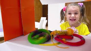 Katy y Max sus divertidas sorpresas Cajas de colores