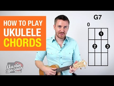 How to Play Ukulele Chords Part 1 | Soprano, Concert, Tenor