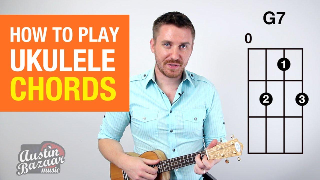 How to play ukulele chords part 1 soprano concert tenor youtube hexwebz Gallery