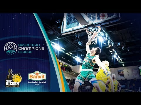 MHP RIESEN Ludwigsburg v Banvit - Highlights - Basketball Champions League 2018-19