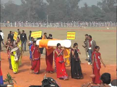 Jhanki on Republic Day in Gandhi Maidan Patna