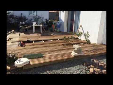 montage terrasse en bois piscine doovi. Black Bedroom Furniture Sets. Home Design Ideas