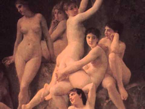 Ravel - Gaspard de la Nuit  - 1/3 Ondine - Andrei Gavrilov -*** William-Adolphe Bouguereau