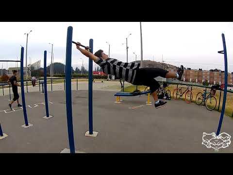 entrenamiento en parque campestre