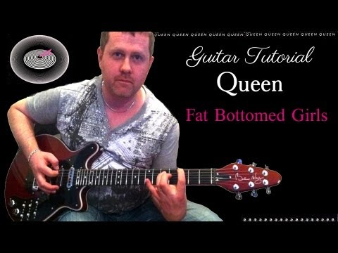 Fat Bottomed Girls - Queen - guitar tutorial
