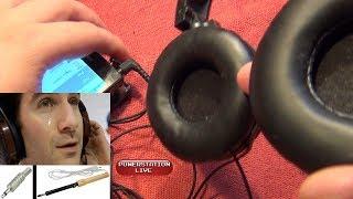 Простой ремонт наушников (заикаются, нет звука, не работает одно ухо) ♫
