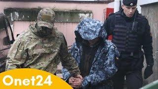 Ukraińscy marynarze przewiezieni do Moskwy | Onet24