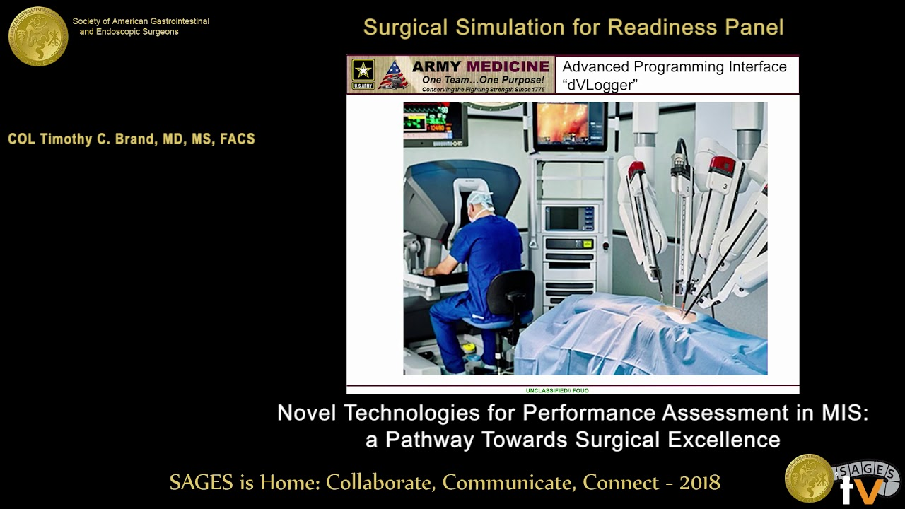 Novel technologies for performance assessment in MIS: A