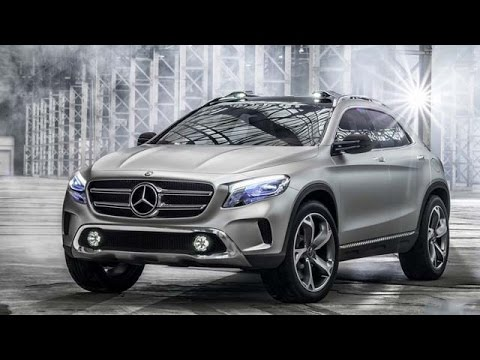 Mercedes benz compact suv gla launched in india youtube for Small mercedes benz