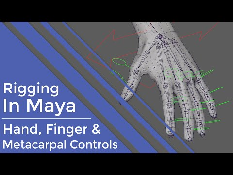 Learn the Basics for Rigging a Hand in Maya - Lesterbanks