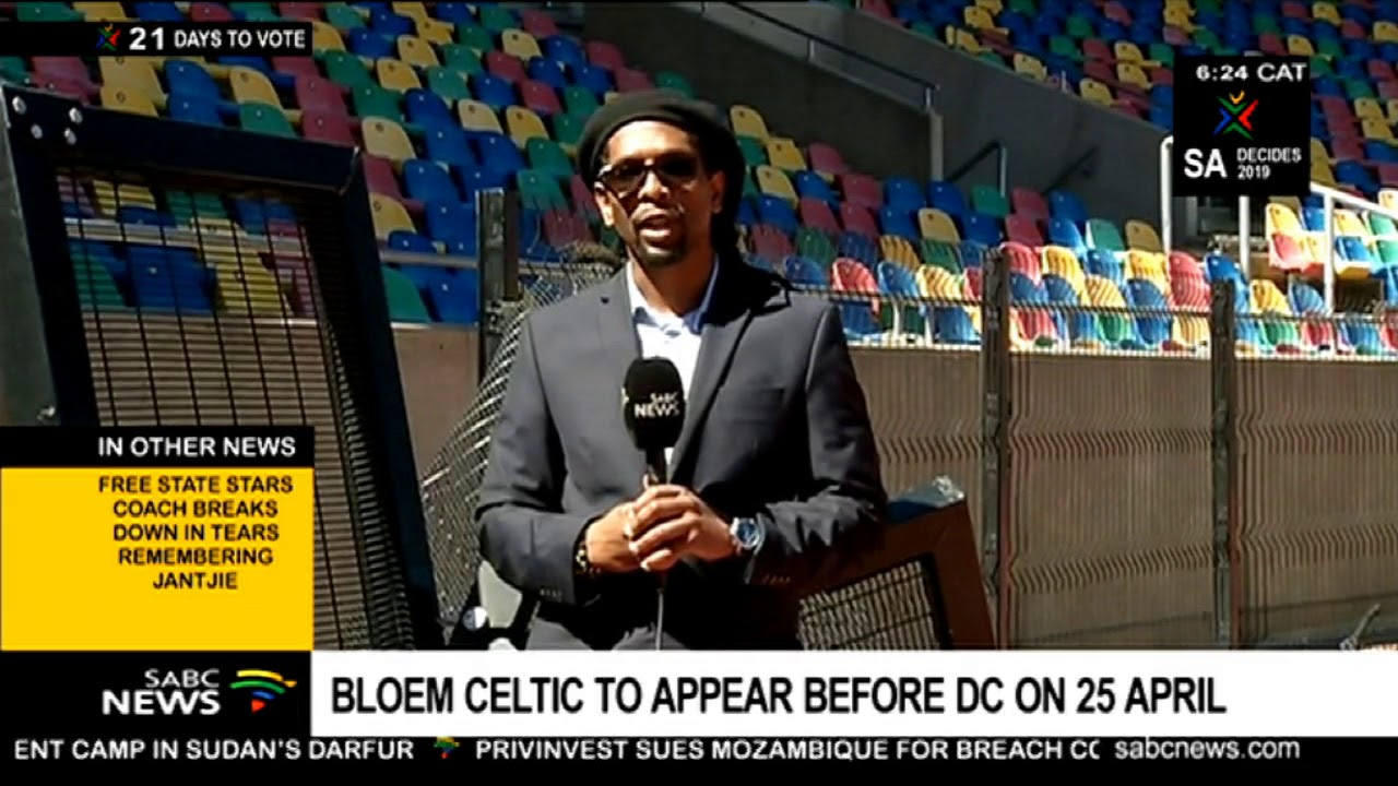 Bloem Celtic to appear before DC on 25 April