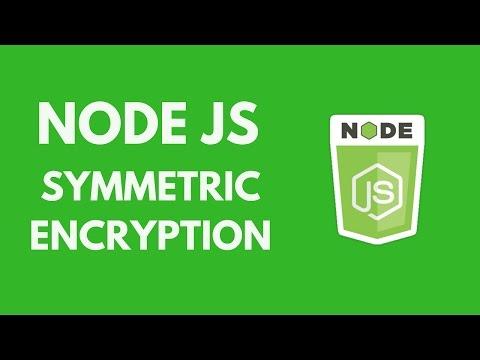 NodeJs - Symmetric Encryption (Module Crypto)