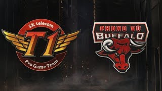 MSI 2019: Fase de Grupos - Dia 2 | SK telecom T1 x Phong Vũ Buffalo (11/05/2019)