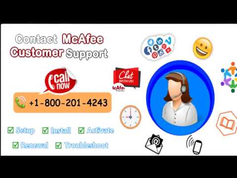 Dial McAfee Antivirus Technical Support +1-800-201-4243 Phone Number For Software &  Hardware Issues
