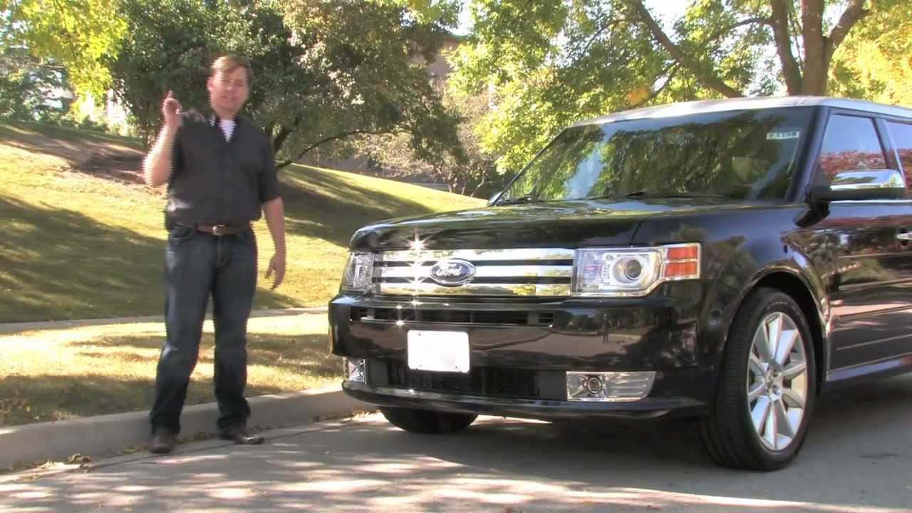 Ford flex ecoboost limited 2012 test drive review with chris moran from chicago motor cars