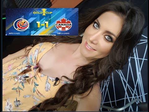 LO MEJOR COSTA RICA CANADA 1-1 COPA ORO 2017 GOLD CUP HONDURAS GUYANA FRANCESA 0-0