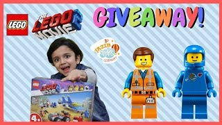 Lego Movie 2 Emmet & Benny Set Giveaway | Jazib Toys Giveaway