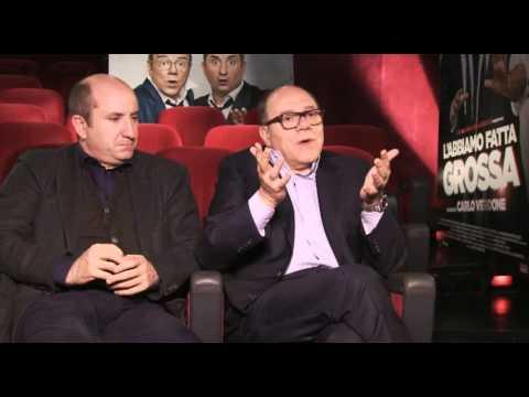 Carlo VERDONE e Antonio ALBANESE intervistati da Ilaria FLORIS