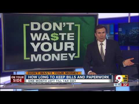 How Long Should Keep My Bills And Tax Paperwork