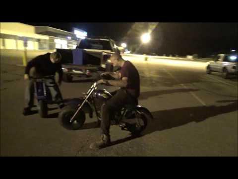 New addition: Baja Warrior Mini Bike Plus grudge match race!