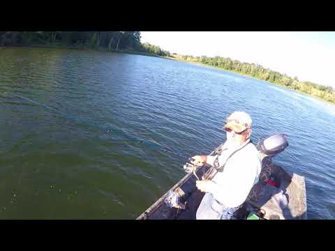 Mudge Pond Bass Fishing