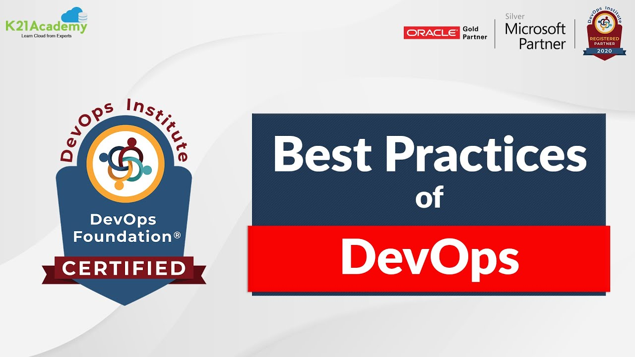 What are Top 10 DevOps Best Practices?
