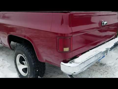 Sagelink Credit Union Flint Auto Loan appraisal 1977 Blazer K5 800-301-3886