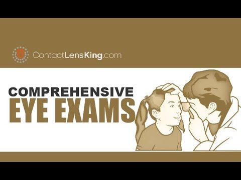 Comprehensive Eye Exams | Visual Acuity, Color Blindness, Cover, Ocular Motility, Stereopsis