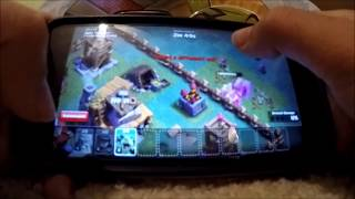 Clash of clans Raiding and Builders Base attacking! COC Gameplay