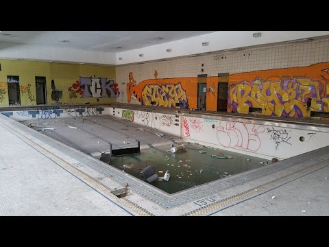 The Abandoned Detroit Southwestern High School. Revisited*****