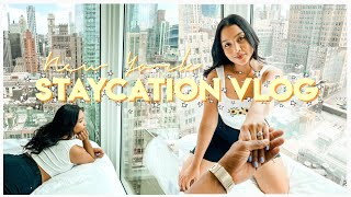 NEW YORK STAYCATION VLOG| ARLO NOMAD HOTEL KING SUITE |  NEW YORK AFTER QUARANTINE |
