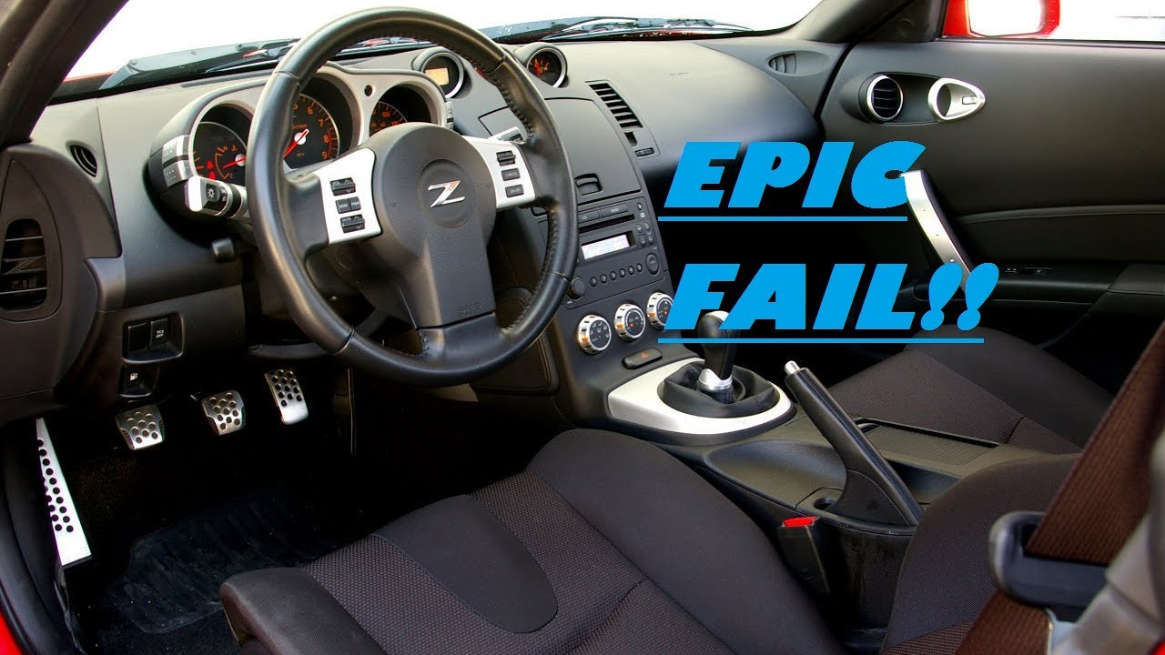350z interior trim removal epic fail youtube for Interieur 350z