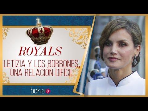 La Reina Letizia Y La Familia Del Rey Felipe, Una Relación Complicada
