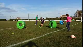 Rugby Donuts evitement 2